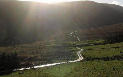 Half way along a long and winding road
