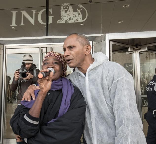 La bataille continue: les ONG déposent plainte contre la banque ING
