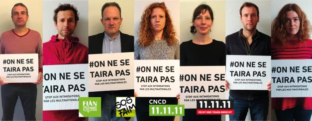 Des ONG de solidarité Nord-Sud et de défense des droits humains dénoncent les nouvelles poursuites-bâillons du groupe agro-industriel SOCFIN