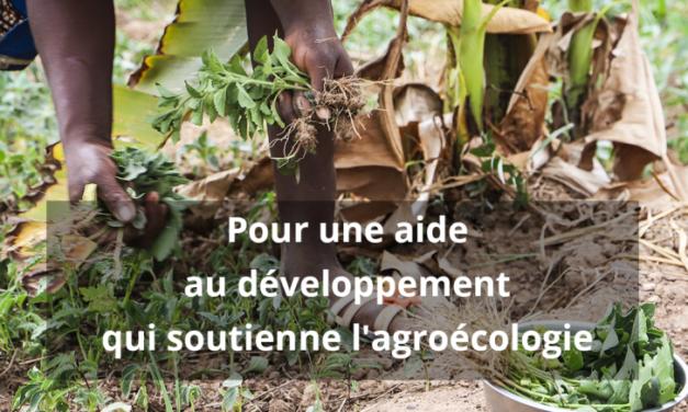 Press Release: La coopération belge au développement consacre seulement 16% de son budget dédié à l'agriculture au soutien de l'agroécologie
