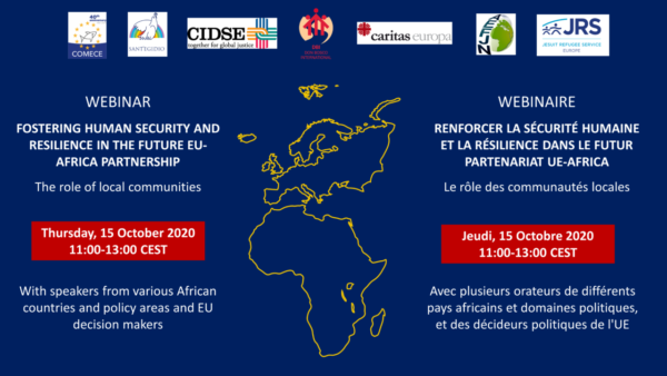 Webinar Fostering Human Security and Resilience in the future_EU-Africa Partnership_Invitation for social media