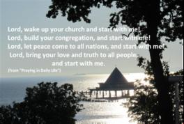 Season of Creation Week 4  A Chance for the Church