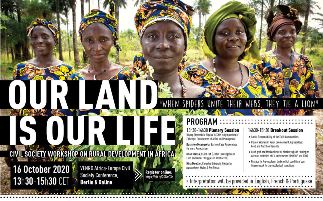 EVENT OF OUR LAND IS OUR LIFE PLATFORM