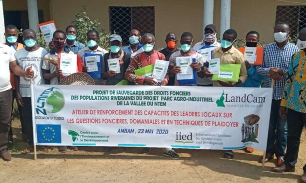 """The Commitment of the """"Network Foi et Justice"""" to the Victims of Land Grabbing in the Ntem Valley"""